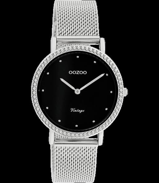 OOZOO vintage Kollektion silver black C20052