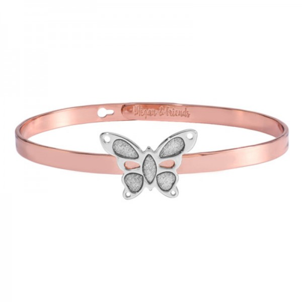 Megan&Friends Rotgold Silber butterfly MF20095-04